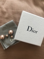 Used Dior double pearl earrings  in Dubai, UAE