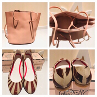 Goby shoes 36 & pink bucket bag read‼️