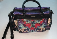 Used Desigual black bag in Dubai, UAE