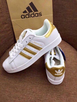 Used New superstar shoes (size 36 to 40) in Dubai, UAE