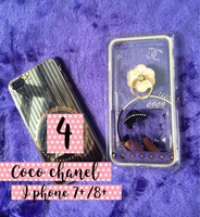 Used Coco Chanel Iphone Case for 7+/8+ with💍 in Dubai, UAE
