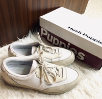 Used OrigInal Hush Puppies white sneakers  in Dubai, UAE