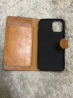 Used Leather wallet phone case.  in Dubai, UAE
