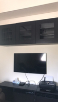 Used Smart Tv with cabinets in Dubai, UAE