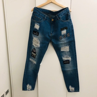 Used Denim pant size XL in Dubai, UAE