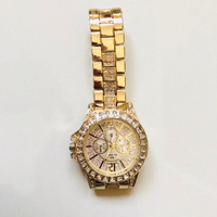 Used Bee Sisters gold watch with stones in Dubai, UAE