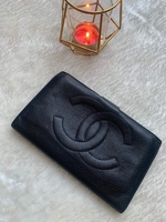 Used Chanel Black Caviar Leather Wallet in Dubai, UAE