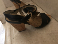 Used Sandals for. Anne klein. Size 38 in Dubai, UAE