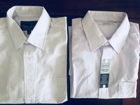 Used ( 2) classic Shirts 1/1 brand&MTM in Dubai, UAE