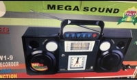 Used Radio with clock and Dual speakers  in Dubai, UAE