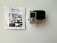 Used USED ONCE GoPro Hero4 with Accessories in Dubai, UAE
