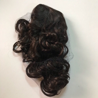 Used 24 inch gold brown curly hair (new) in Dubai, UAE