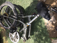 Used Folding aluminium bike from Japan  in Dubai, UAE