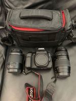 Used Canon 80D with lens, bag and accessories in Dubai, UAE