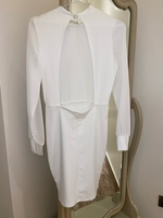 Used White dress with open back in Dubai, UAE