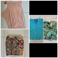 Used Two skirts top and corset XS in Dubai, UAE