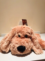 Used Lazy Manfred cuddle plush dog in Dubai, UAE