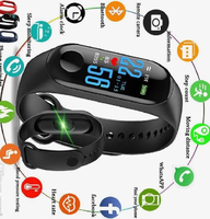 Used Sports Fitness Smart Bracelet M3+M2 FREE in Dubai, UAE