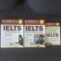 Used Barron's IELTS Superpack in Dubai, UAE