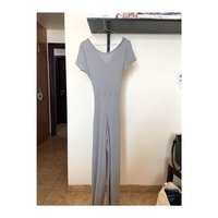 Used Missguided Grey Ribbed Lounge Jumpsuit in Dubai, UAE