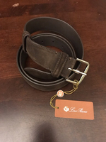 Used Loro Piana suede belt  in Dubai, UAE