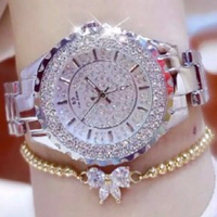 BS silver watch with bracelet