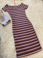 Used Colorful dress with stripes  in Dubai, UAE