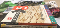 Used AP English Language Books  in Dubai, UAE
