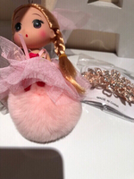Used bags or key chains doll Pom Pom  👛 in Dubai, UAE