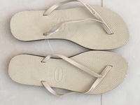 New Leather Havianas- original