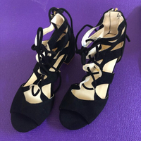 Used Black Sandals/37 in Dubai, UAE