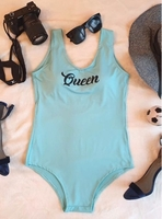 Used 1 piece Light Blue queen swimwear in Dubai, UAE