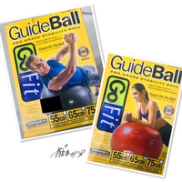 Used Guide Ball Go fit Stability Ball  💙 in Dubai, UAE
