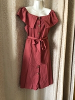 Used Cute shoulder off button dress size M in Dubai, UAE