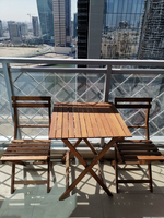 Used Balcony/terrace set 2 chairs  in Dubai, UAE