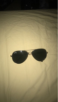 Used ray ban gold sun glasses brand new in Dubai, UAE