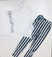 Black 'n White Style Set for her size S
