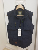 Used mens tactical vest blue m-bust  in Dubai, UAE
