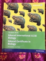 Used Edexcel IGCSE biology student text book  in Dubai, UAE
