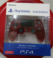 Used PS4 Crystal Red DualShock Controller  in Dubai, UAE