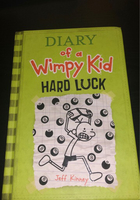 Used Diary of a wimpy kid - (Hard cover) in Dubai, UAE