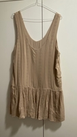Used Jumpsuit short beige with pockets in Dubai, UAE