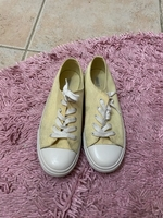 Forever21 yellow sneakers