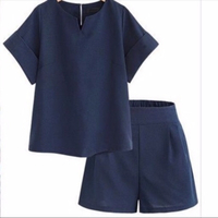 Used Top and pants set blue size XL in Dubai, UAE
