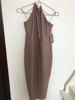 Brand New Boohoo dress (S-M) Nude