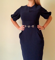 Used Deep blue dress in Dubai, UAE