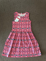 Dress for a girl 8-9 years old pink