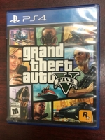 Used PS4 Game GTA 5 with MAP Grand Theft Auto in Dubai, UAE
