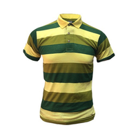 Used Yellow polo T-shirt for Men - Size Mediu in Dubai, UAE
