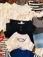 Used Baby boy clothes 0 to 6 months  in Dubai, UAE